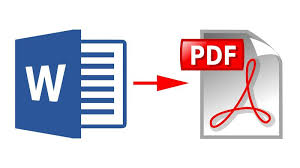 Convert word to pdf for writers
