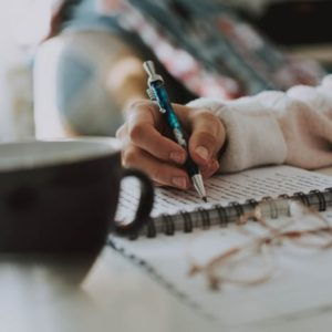 writing - pen and paper