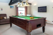 Writer's retreat - Lake District, the games room