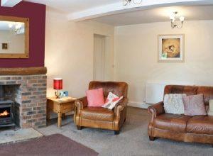 Writer's retreat - Lake District, lounge