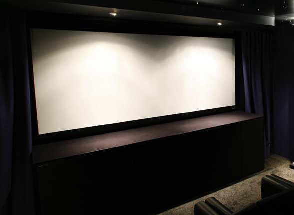 Writer's retreat, cinema room